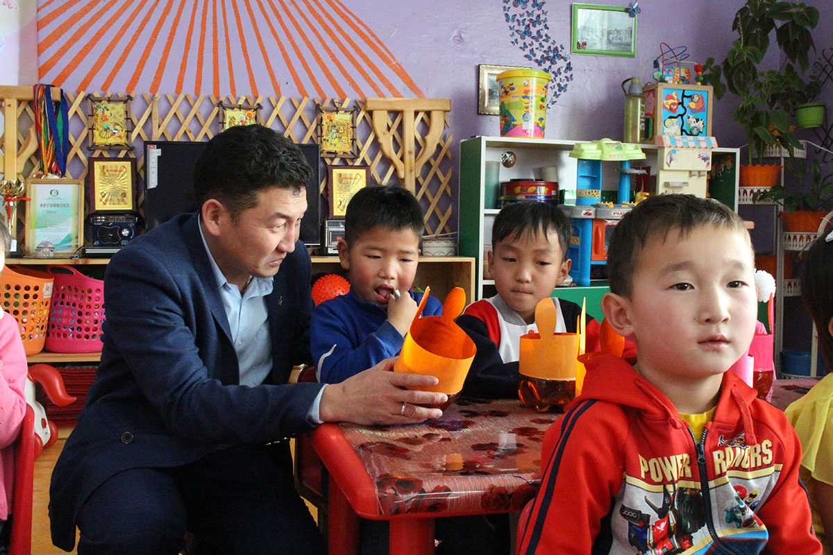 Learn Why This Mongolian Kindergarten Principal Is Teaching Kids How to Recycle