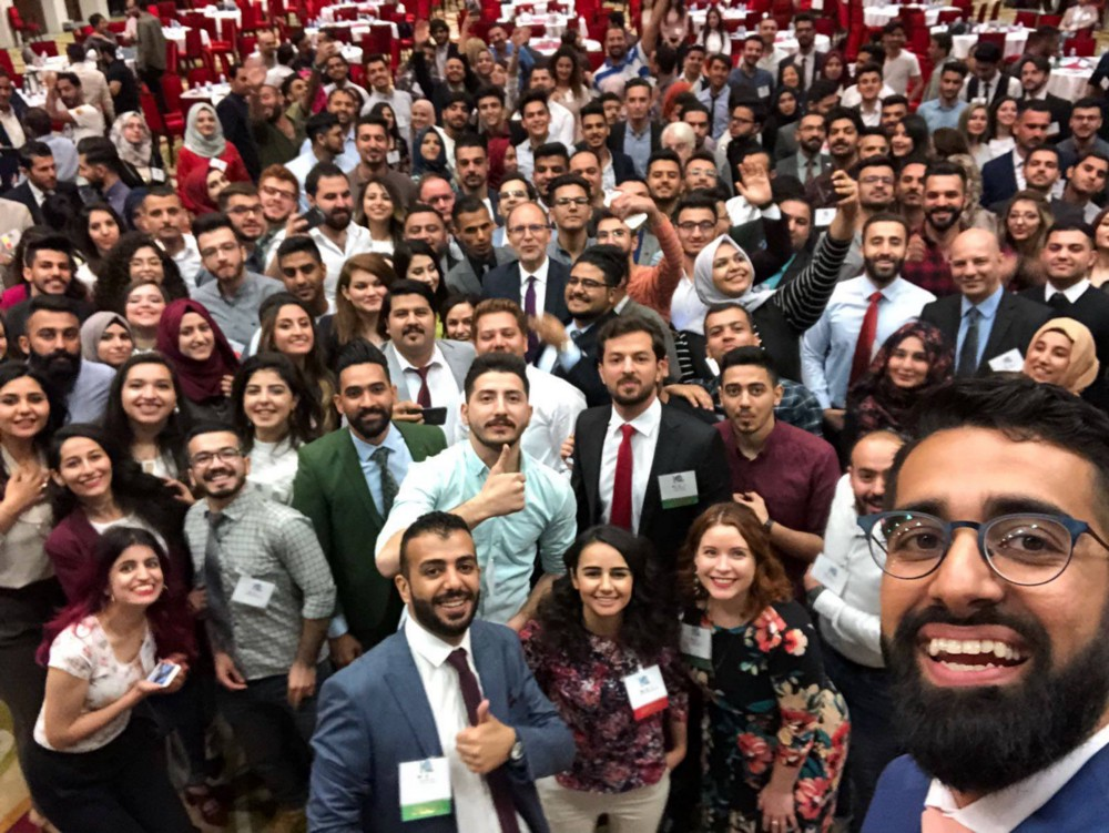 Iraqi Youth Gather in Baghdad to Celebrate 10 Years of International Exchange