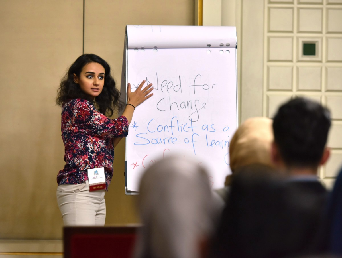 How Lourd Hanna, IYLEP Alumna, is Building Peace and Understanding in Iraq