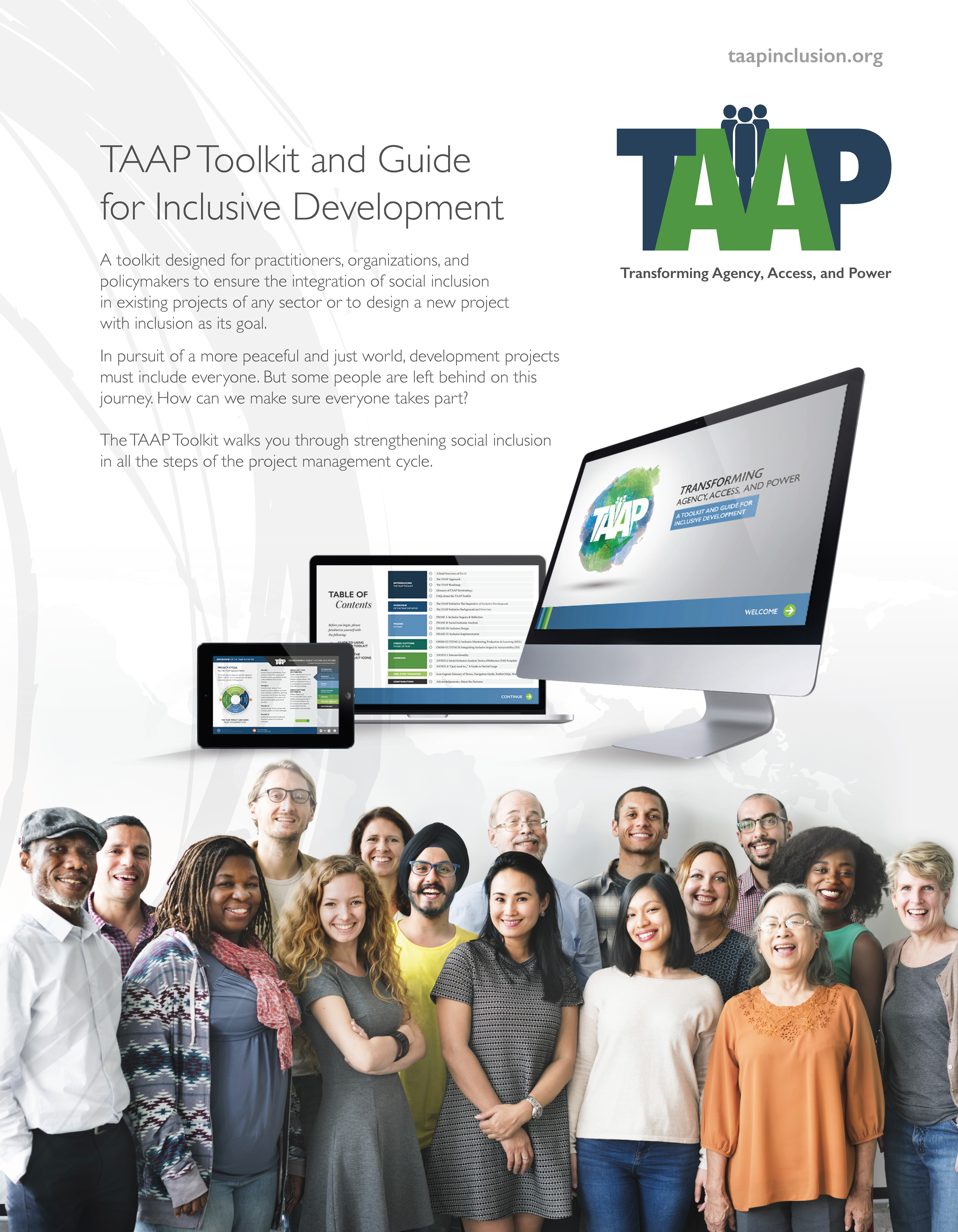 TAAP Toolkit and Guide for Inclusive Development Brochure