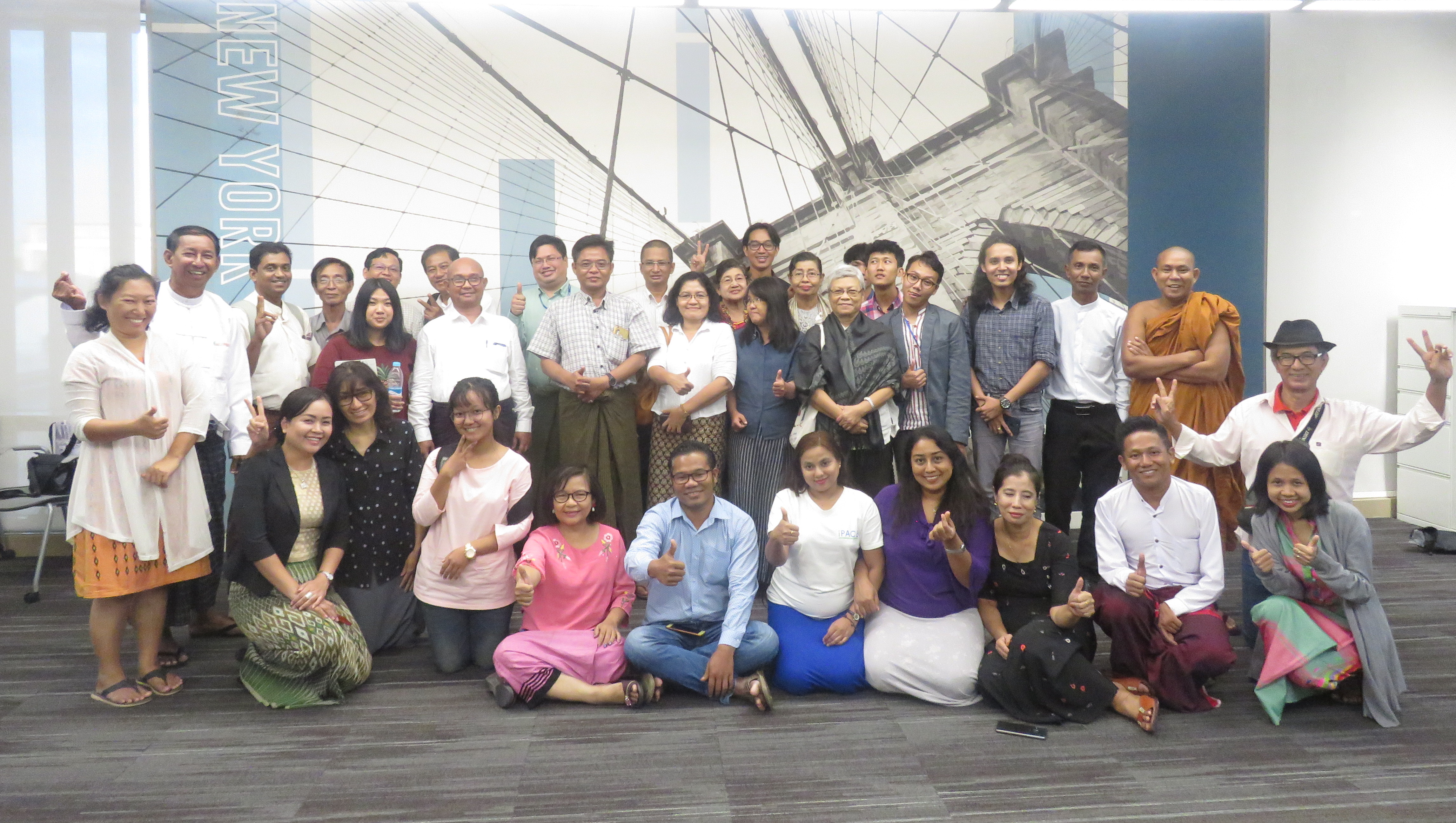 A Year of Democracy Building with Myanmar's iPACE Alumni