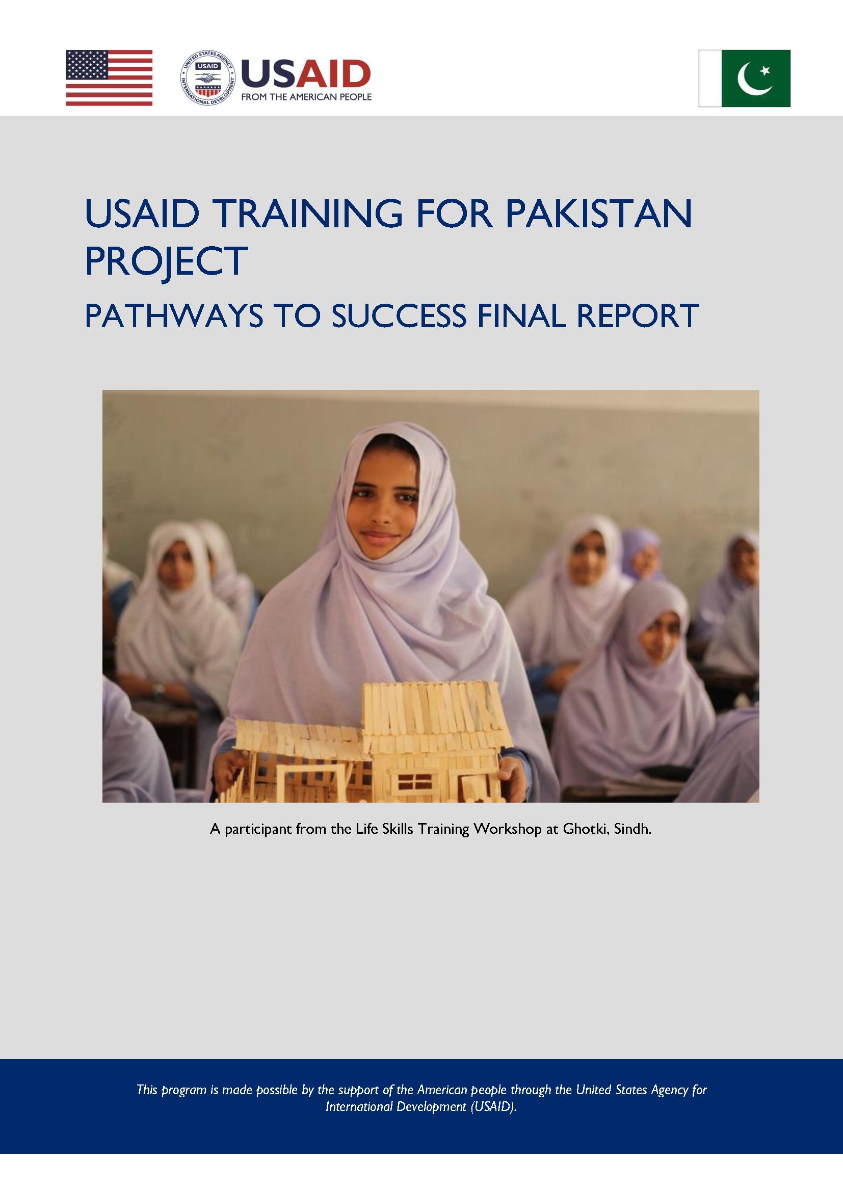 Pathways to Success Pakistan Final Report
