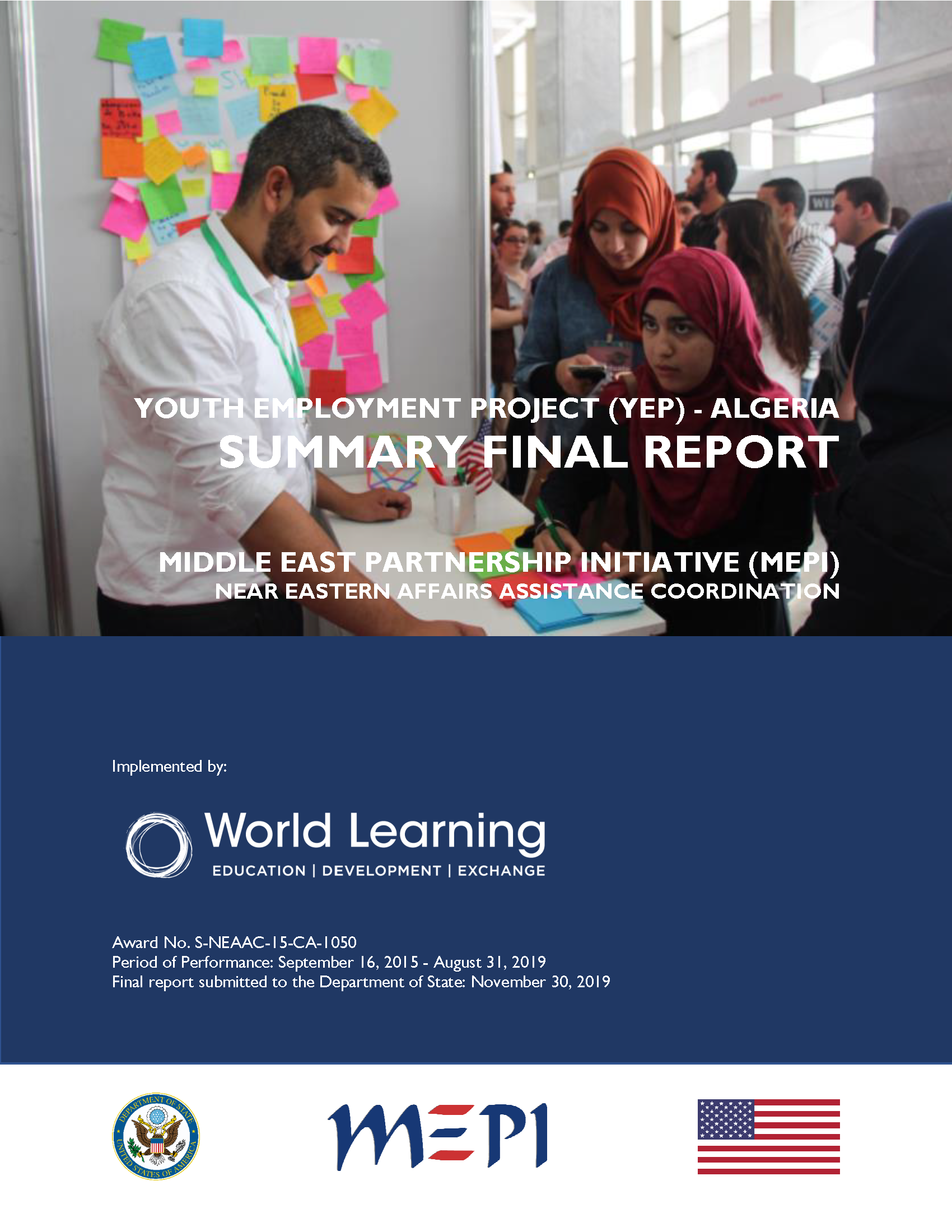 Youth Employment Project Algeria Final Summary Report