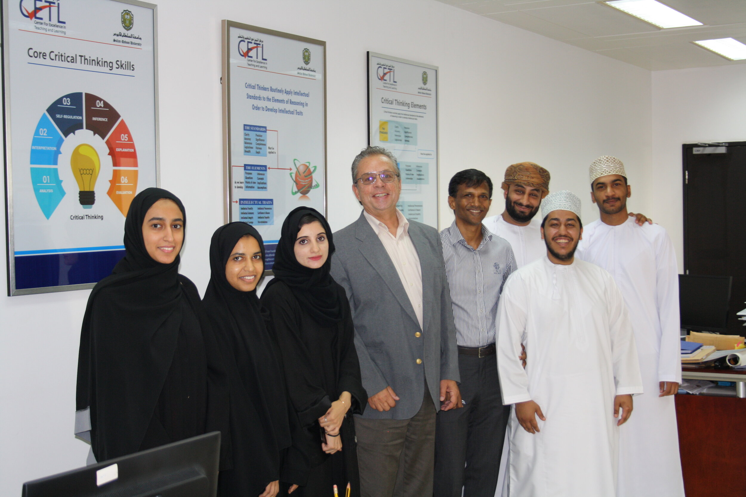 Helping Students Build Critical Thinking Skills in Oman Through the Fulbright Specialist Program
